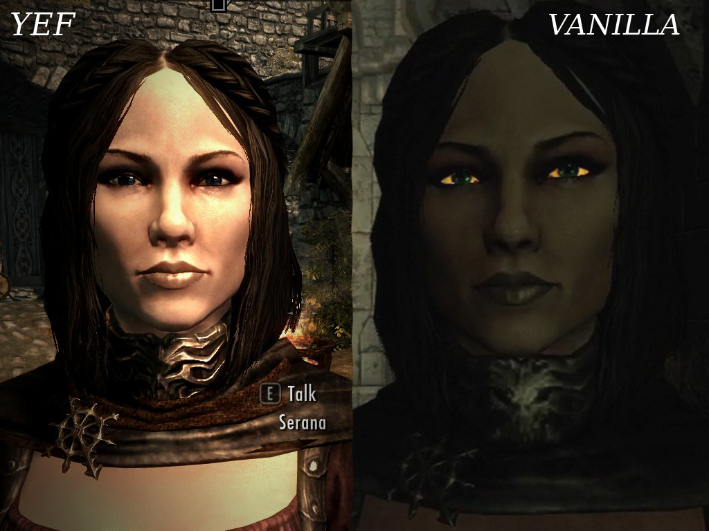 [Help] Serana/eye texture troubles : skyrimmods