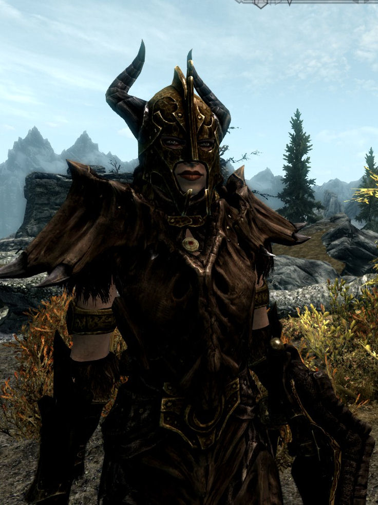 Champion Dragon Armor -Now with Dragonbone Weapon Support at Skyrim ...