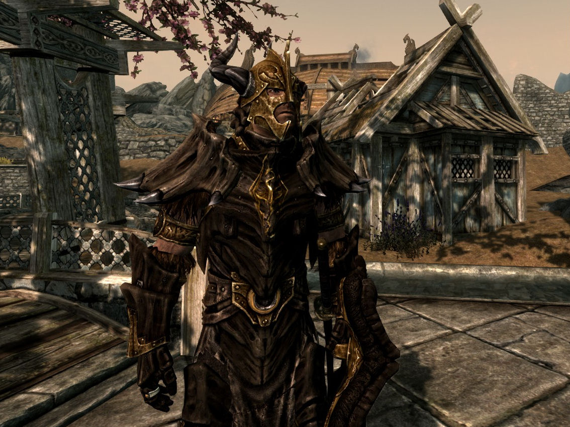 Champion dragon armor now with dragonbone weapon support at skyrim male dragonplate publicscrutiny Image collections