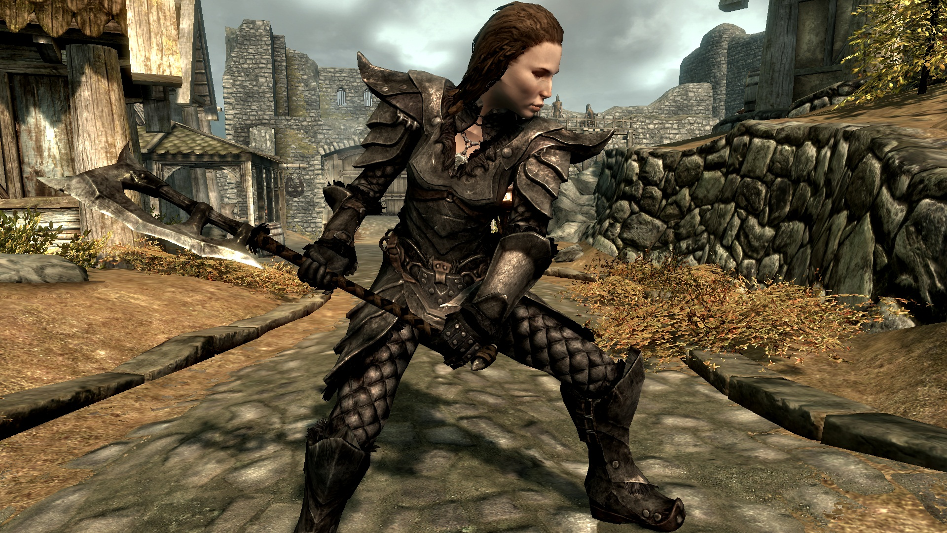Tastefully darker Orcish armor and weapon textures at ...