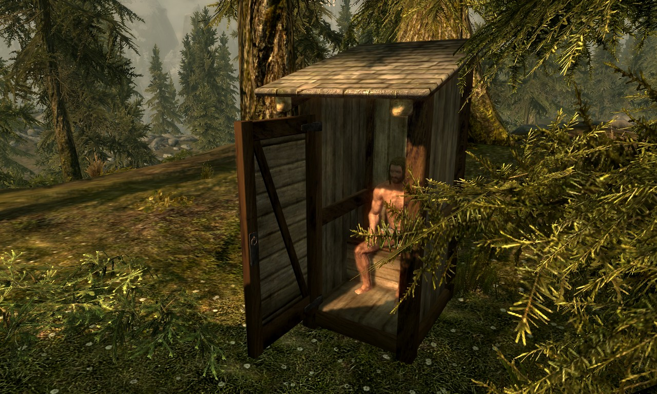 Strotis Outdoor Toilet Resource At Skyrim Nexus Mods And