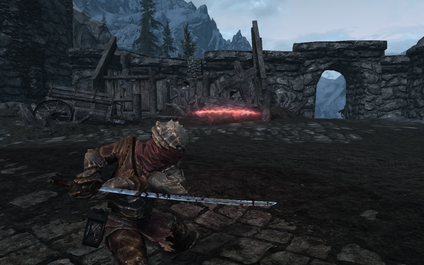 skyrim how to get the bloodskal blade