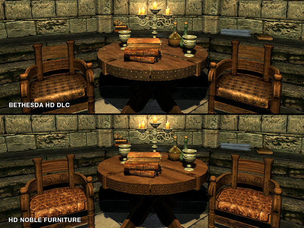 HD Noble Furniture at Skyrim Nexus - mods and community