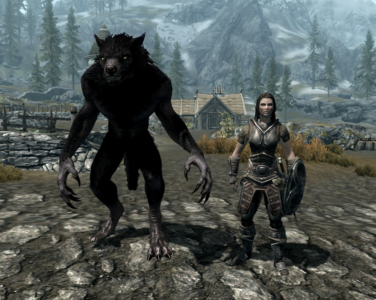 Image result for werewolf skyrim