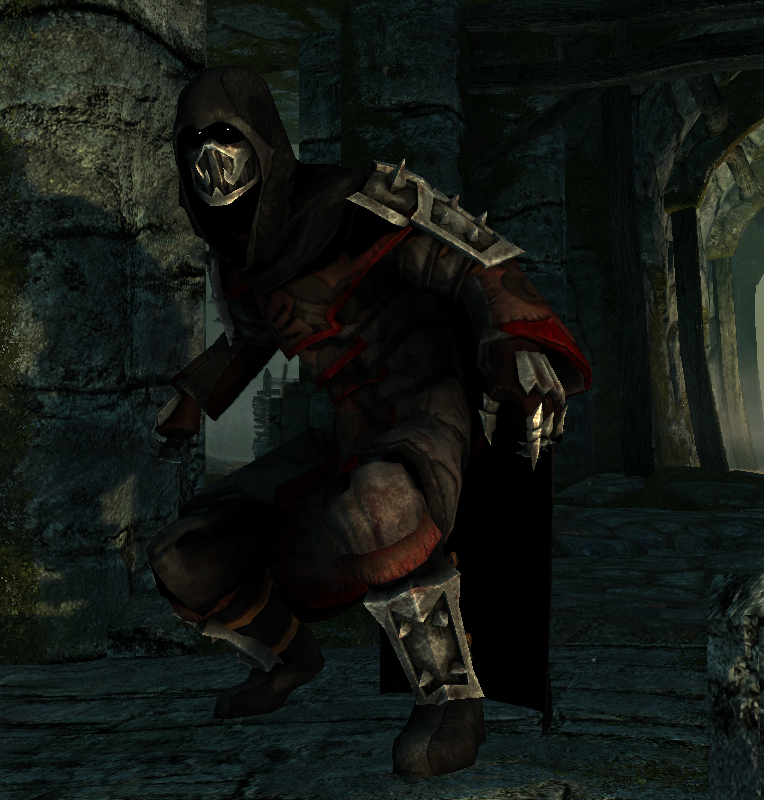 Alternate Ancient Shrouded Armor at Skyrim Nexus - mods ...