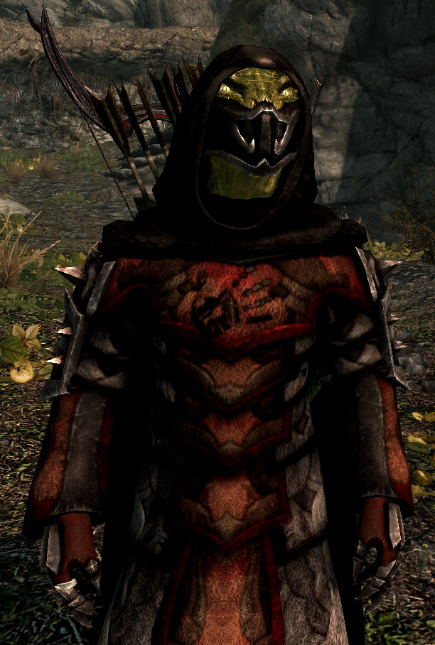 Image Gallery shrouded armor