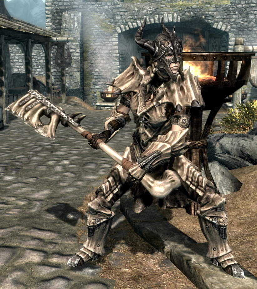 dragon bone weapons complete at skyrim nexus mods and