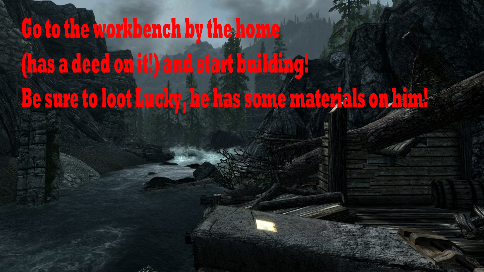 Build Your Own Home Spanish At Skyrim Nexus Mods And