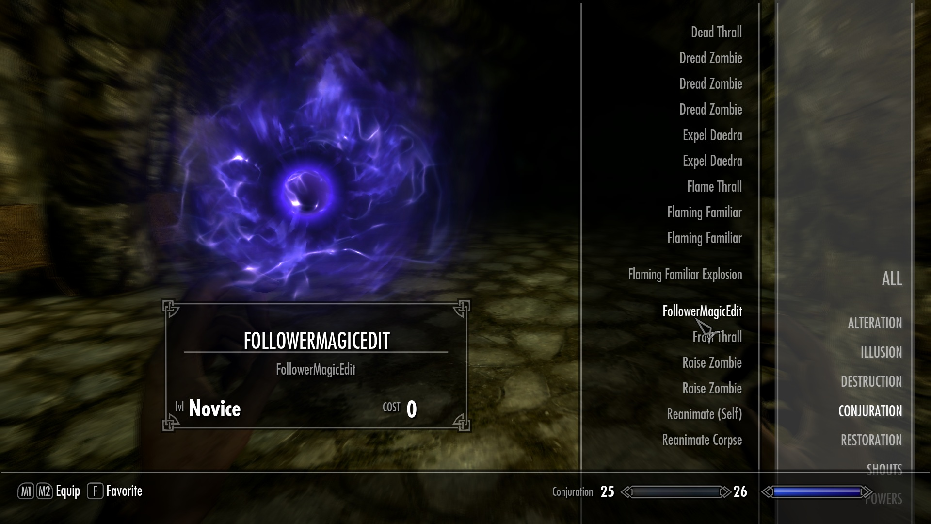 Follower Magic Edit at Skyrim Nexus - mods and community