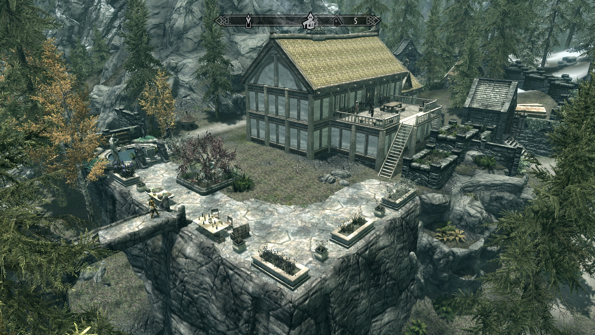 how to build big house in skyrim ps3