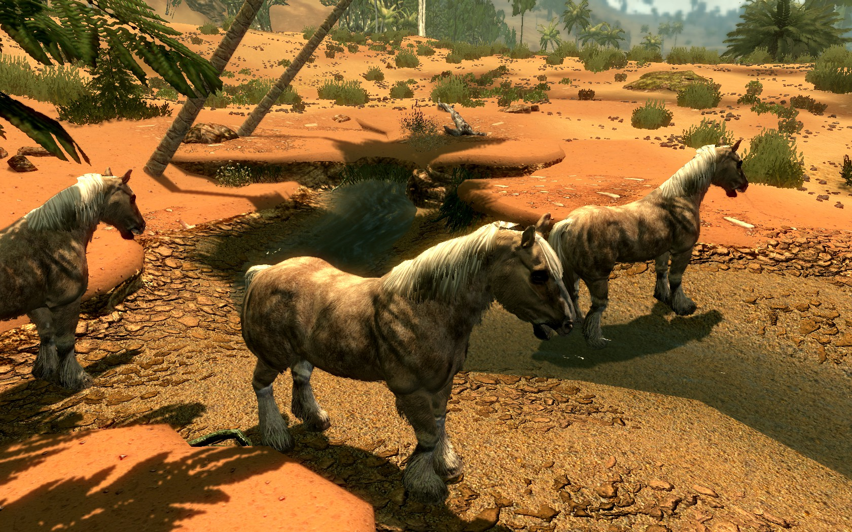 Tame The Beasts of Skyrim Addon - Wild Horses at Skyrim