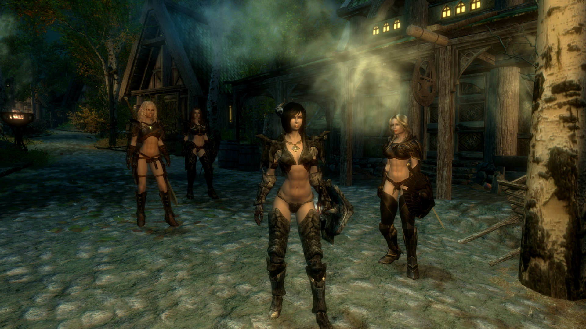 y Vanilla Female Armor for UNP and SevenBase with BBP at Skyrim
