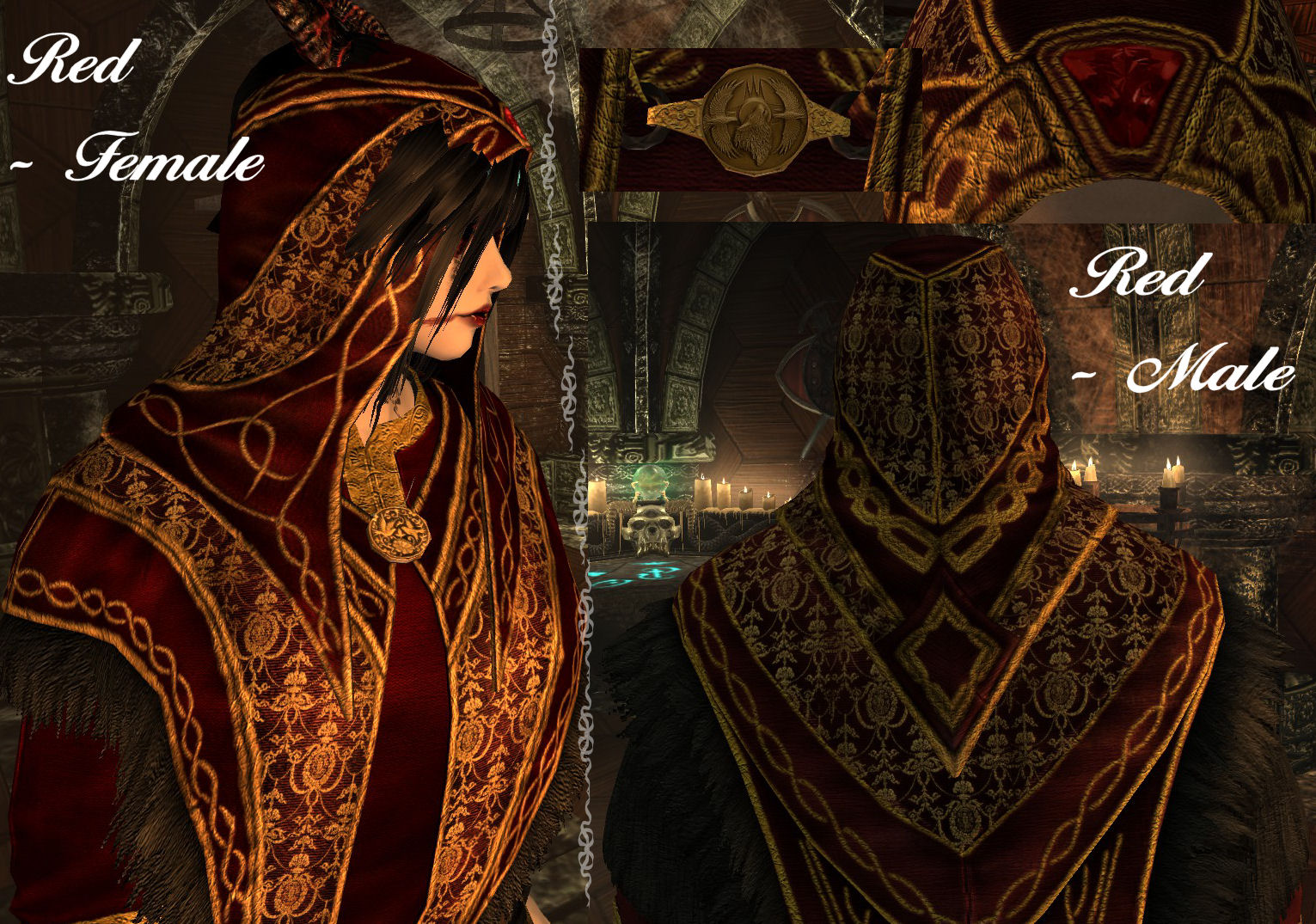 Archmage Robes Royal Retexture 19 Colours At Skyrim Nexus Mods And Community