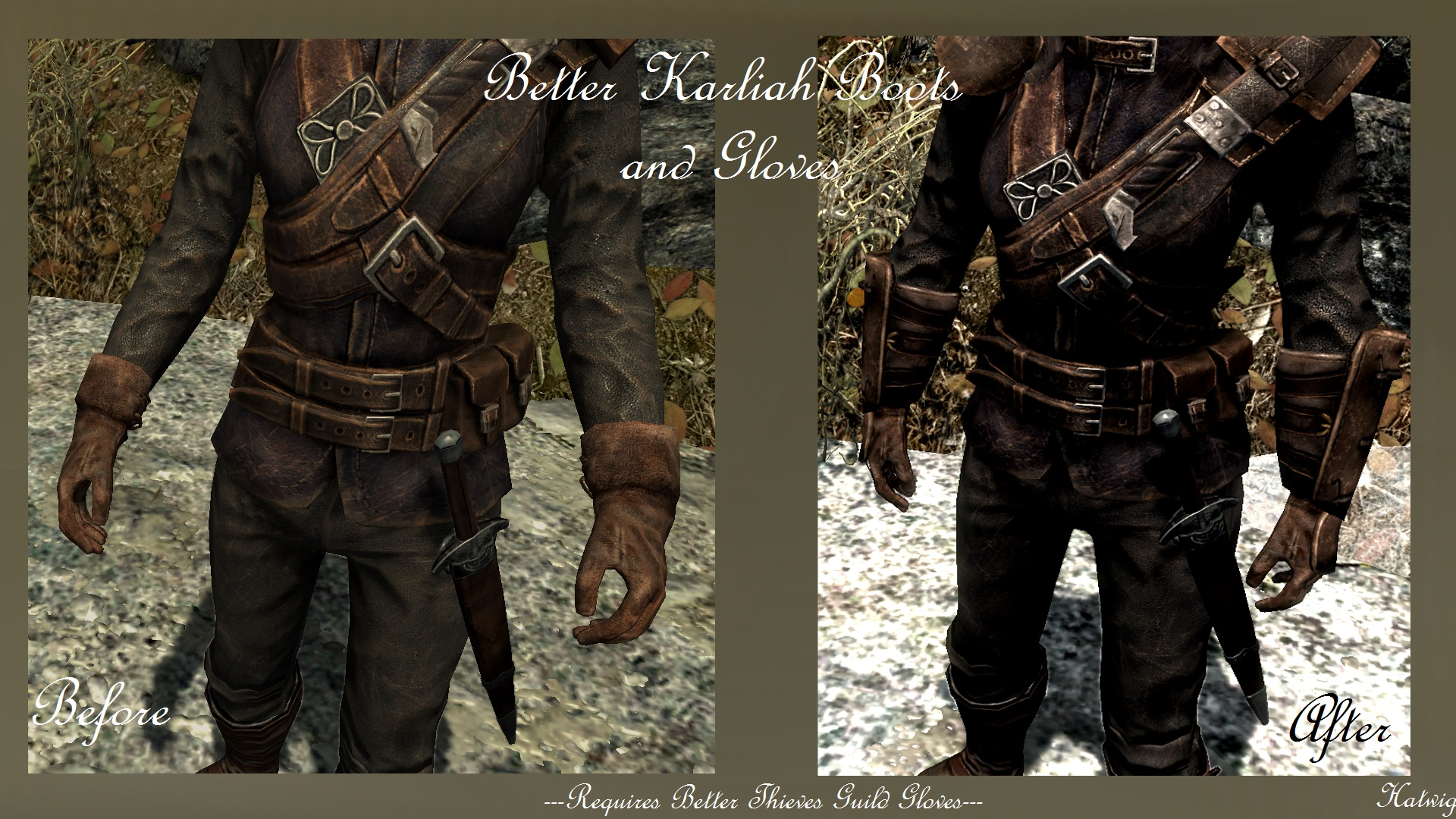 Black gloves skyrim - 6 Endorsements