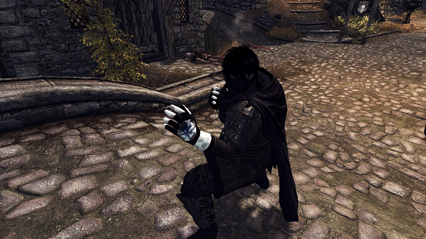 Black gloves skyrim - 43 Endorsements