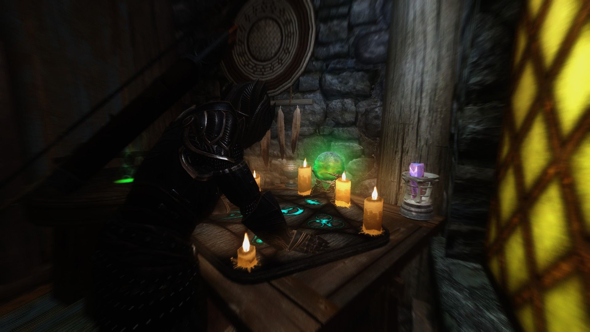 how to build an enchantment table in skyrim