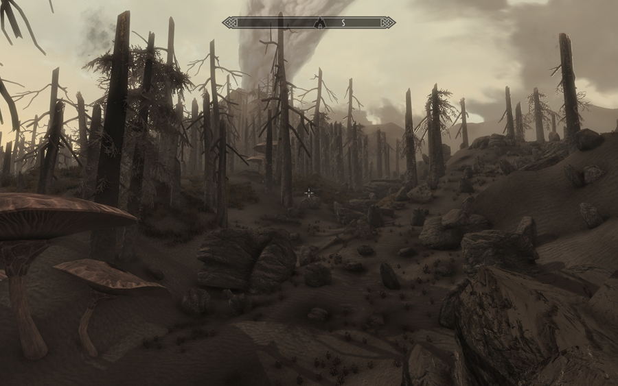 morrowind how to get to red mountain
