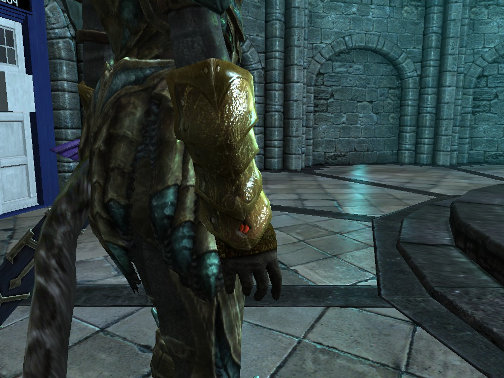 The Legend of Zelda - The Silver and Golden Gauntlets at Skyrim