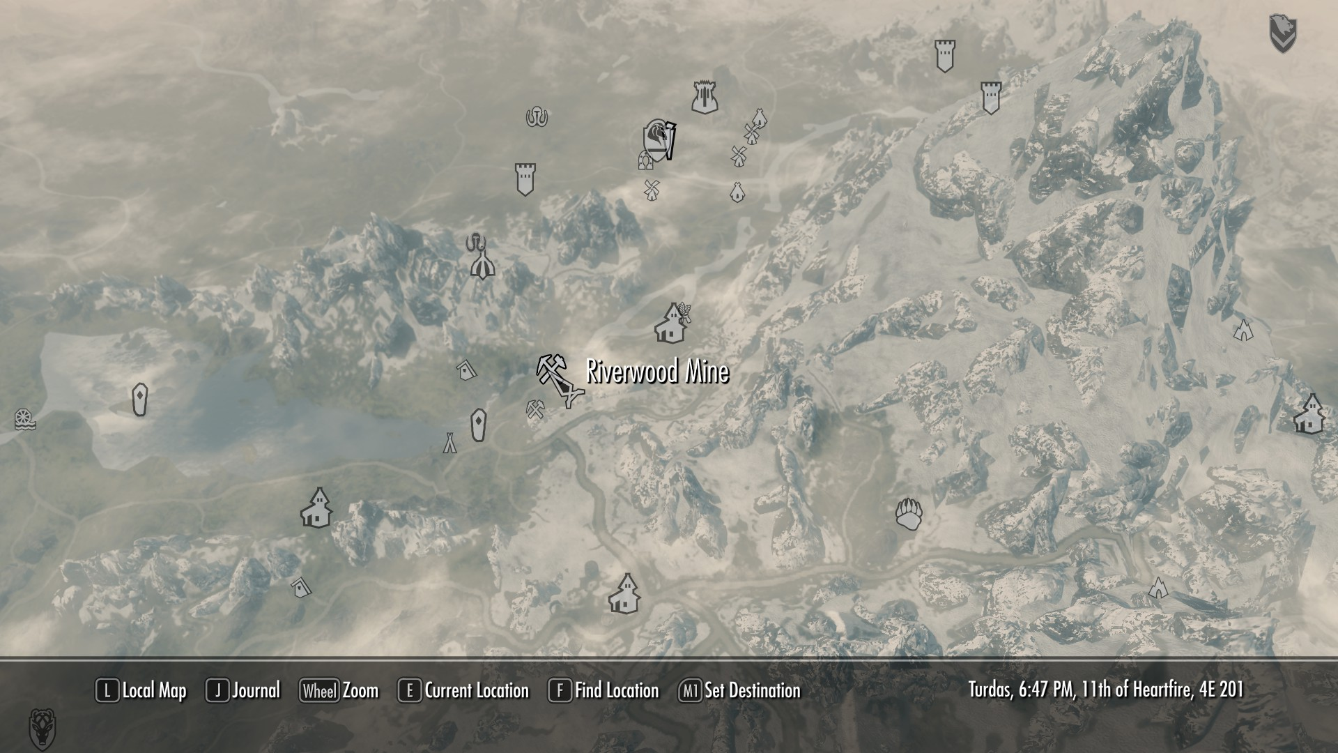 Skyrim ebony locations