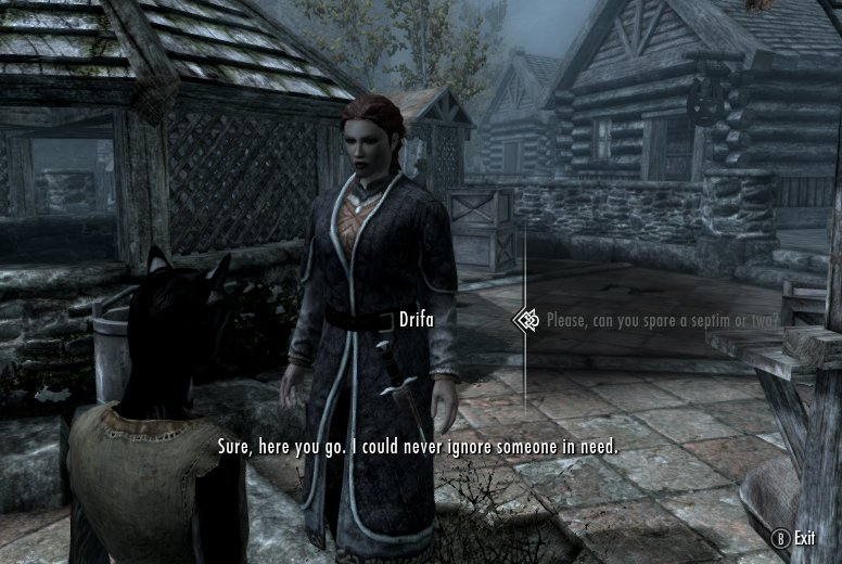 Become a Beggar at Skyrim Nexus - mods and community
