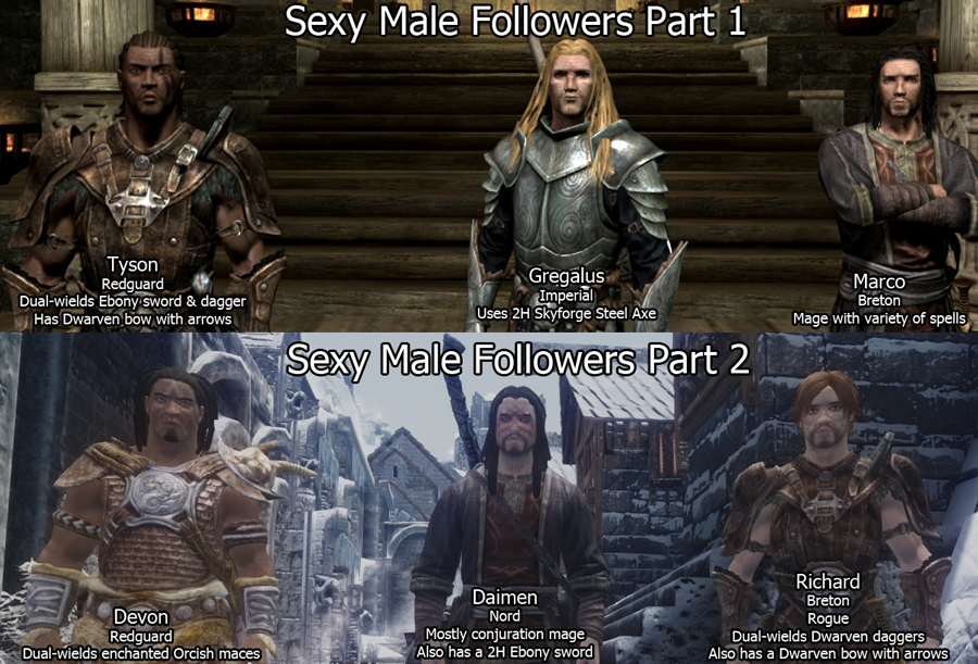 skyrim how to give your follower armor