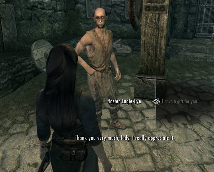 Give Gifts to anyone in Skyrim at Skyrim Nexus - mods and community