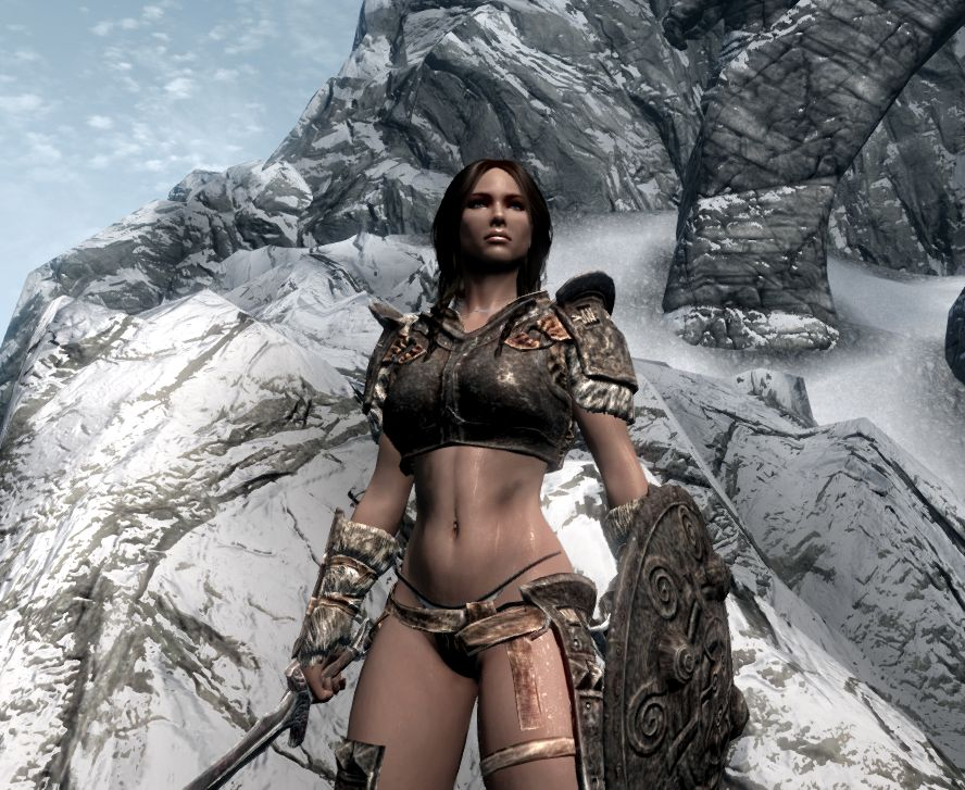 how to build lydia in skyrim
