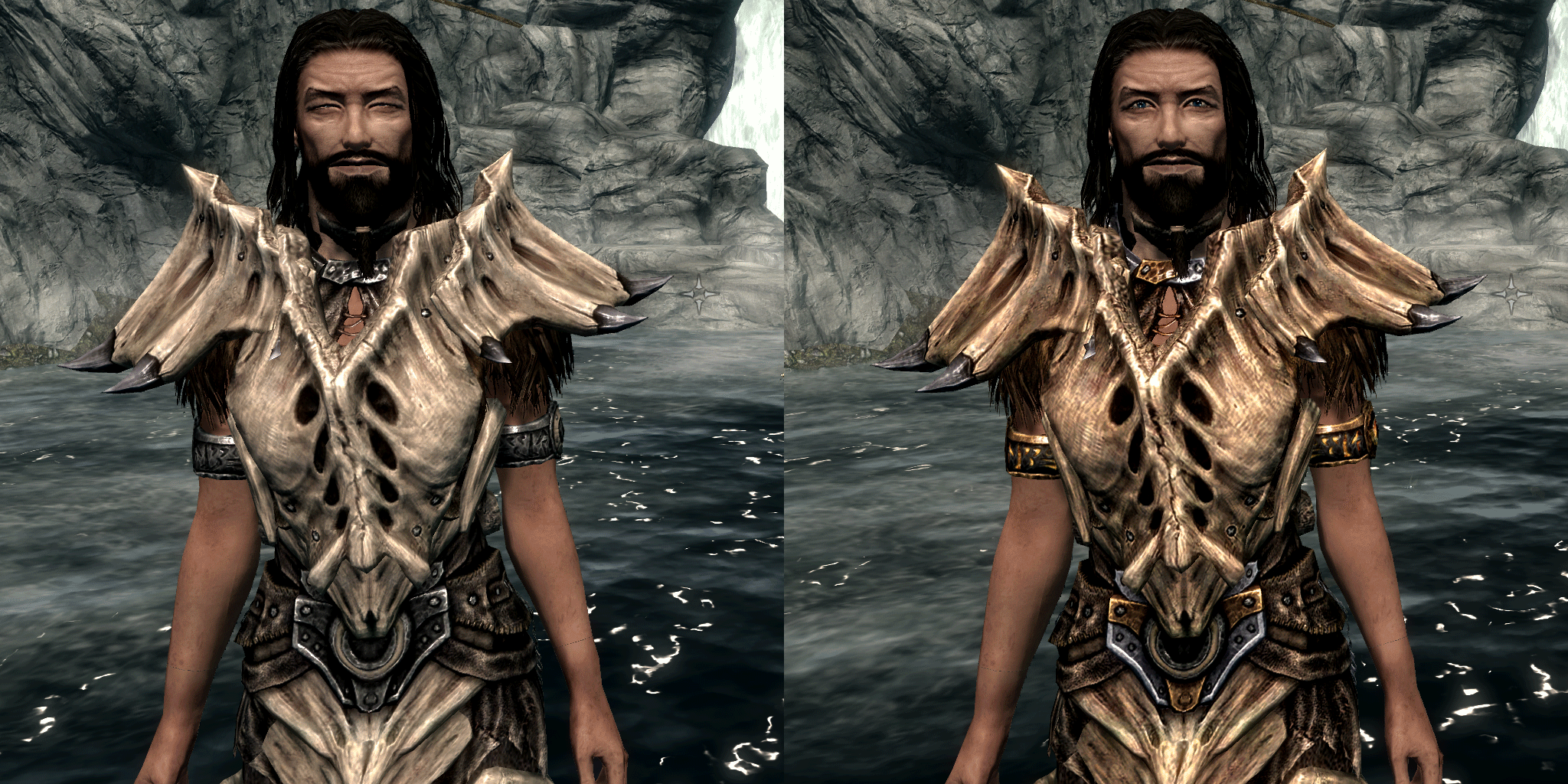 Tri Metal Dragonbone Armor Set At Skyrim Nexus Mods And Community And is not affiliated with the game publisher. tri metal dragonbone armor set at