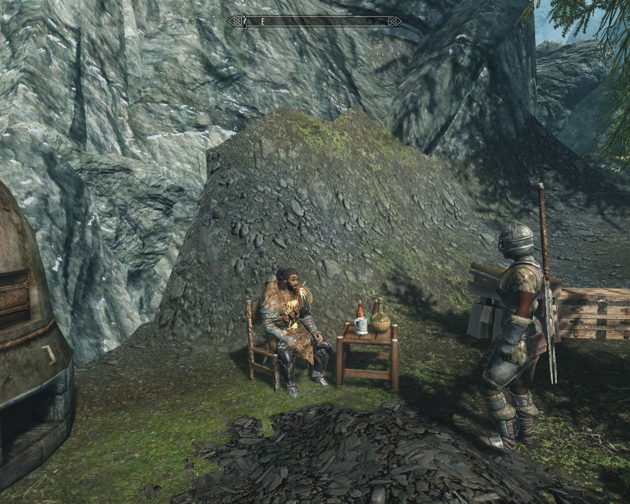 Chaise et table de jardin at skyrim nexus mods and community - Table et chaise jardin ...