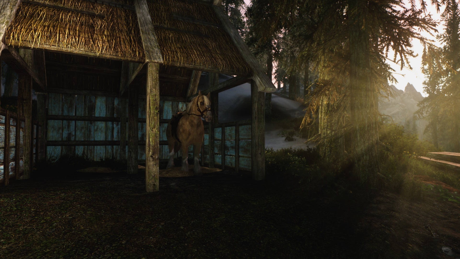 skyrim how to get a forge at lakeview manor