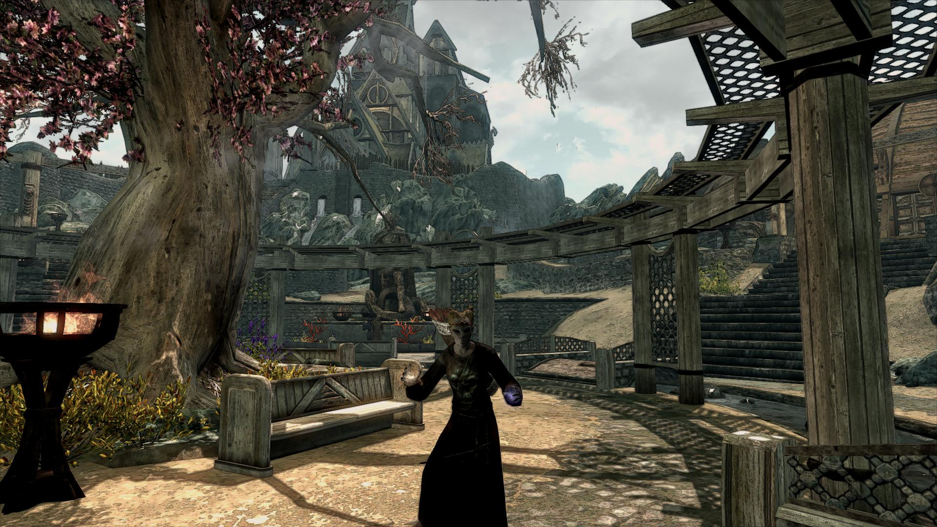Skyrim graphic mods Not working