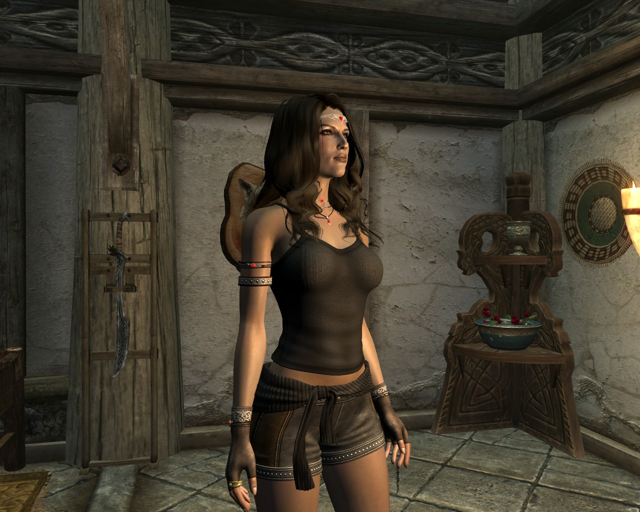 Dg leather clothes at skyrim nexus mods and community