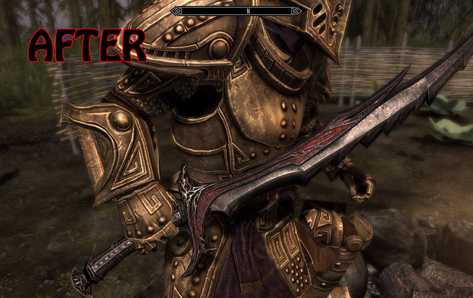Daedric Sword Retexture at Skyrim Nexus - mods and community