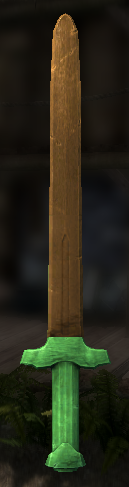 The Legend Of Zelda Wooden Sword Retexture At Skyrim Nexus Mods