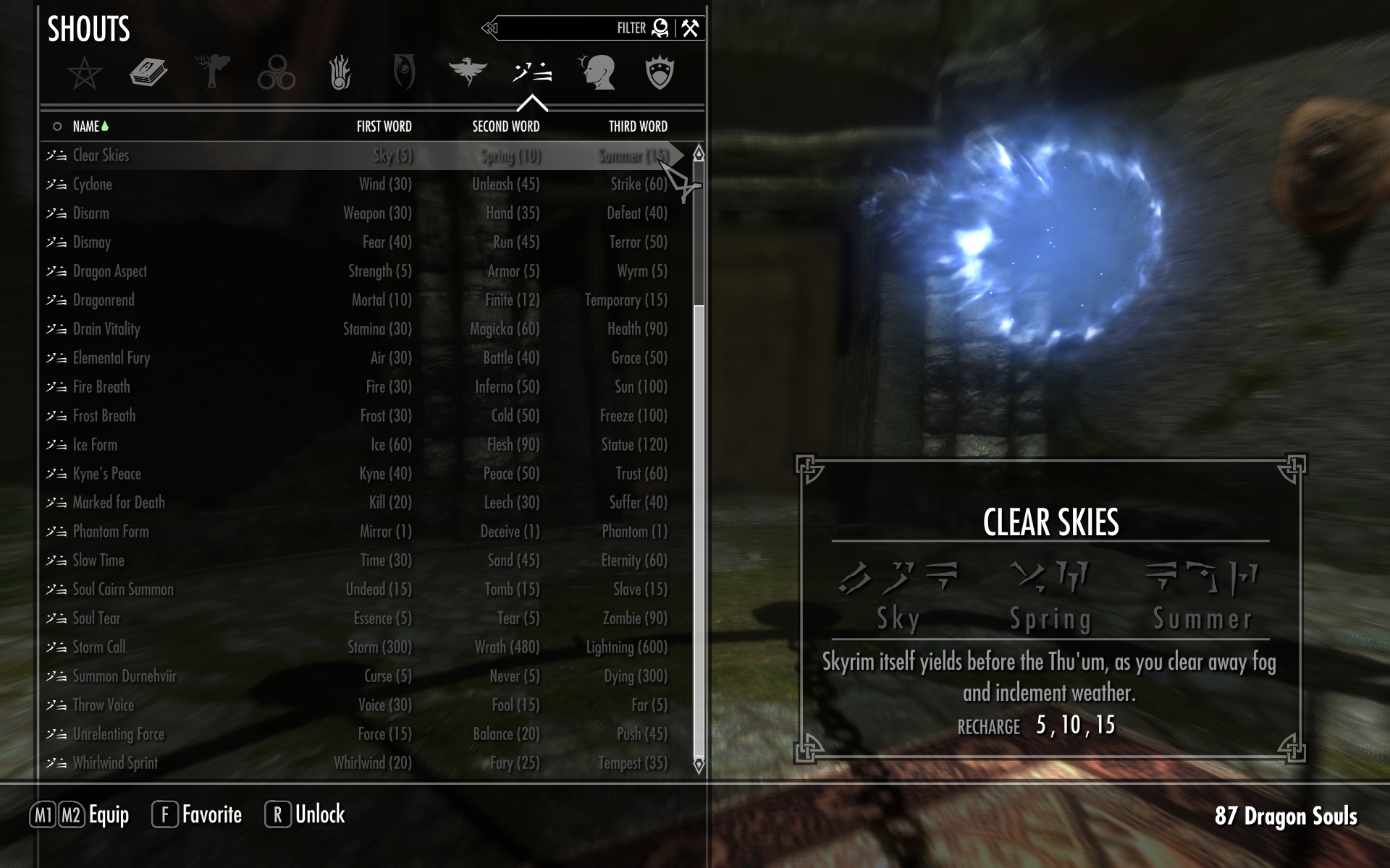 All Shouts at Skyrim Nexus - mods and community