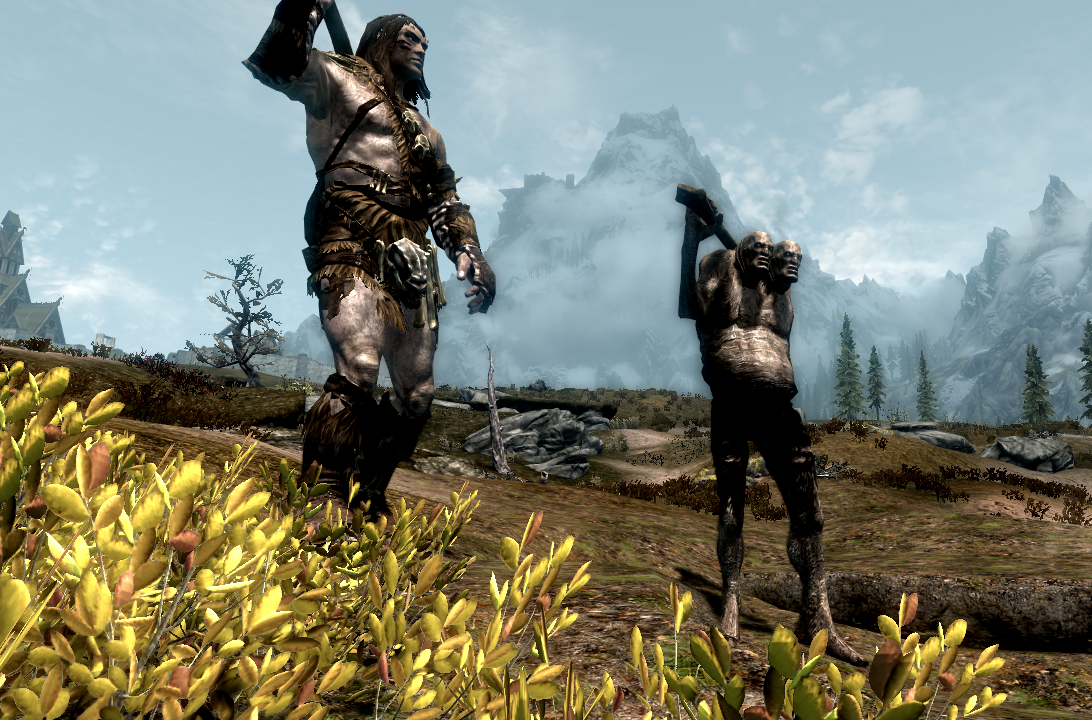 Playable Giant Race and Giant Expansion at Skyrim Nexus ...