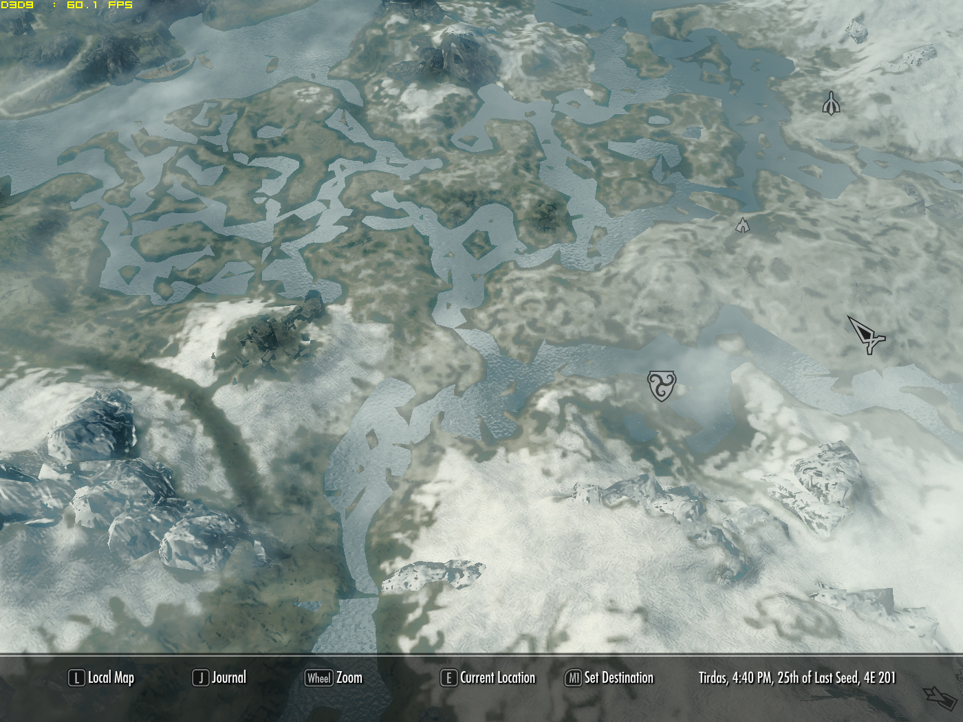 High Quality 3D Map at Skyrim Nexus - mods and community
