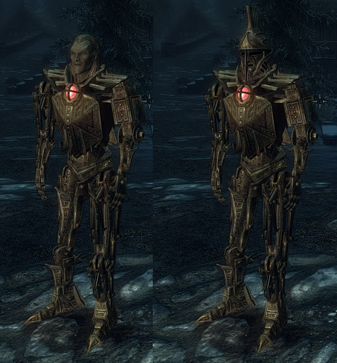 Dwarven Bionic Suit Dwemer Light Power Armor At Skyrim Nexus