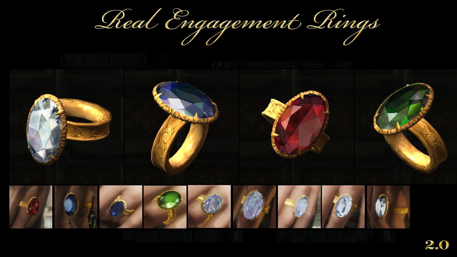 real engagement rings at skyrim nexus mods and community