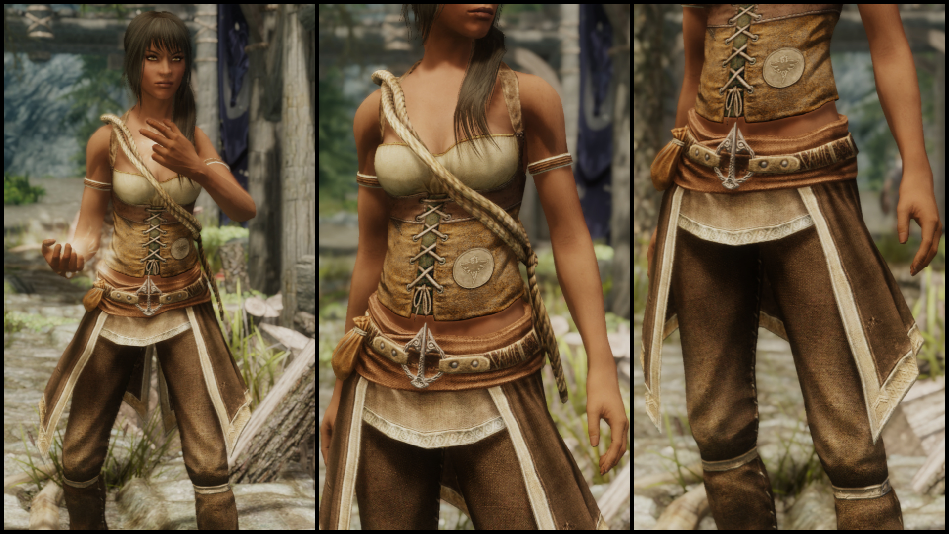 Field Mage Outfit By Echo 1162 Unp Hdt Tbbp At Skyrim