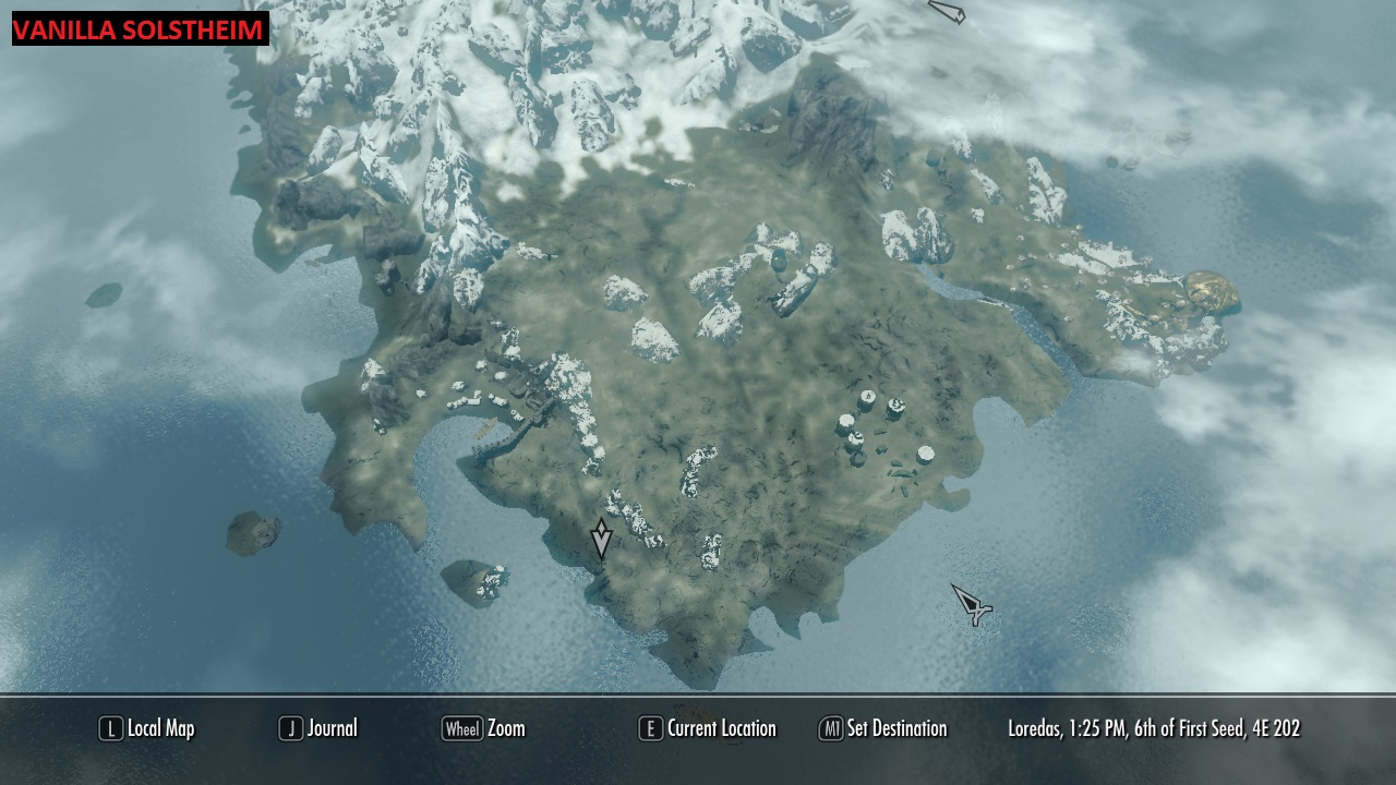 A quality world map and solstheim map with roads at skyrim nexus vanilla solstheim map gumiabroncs Image collections