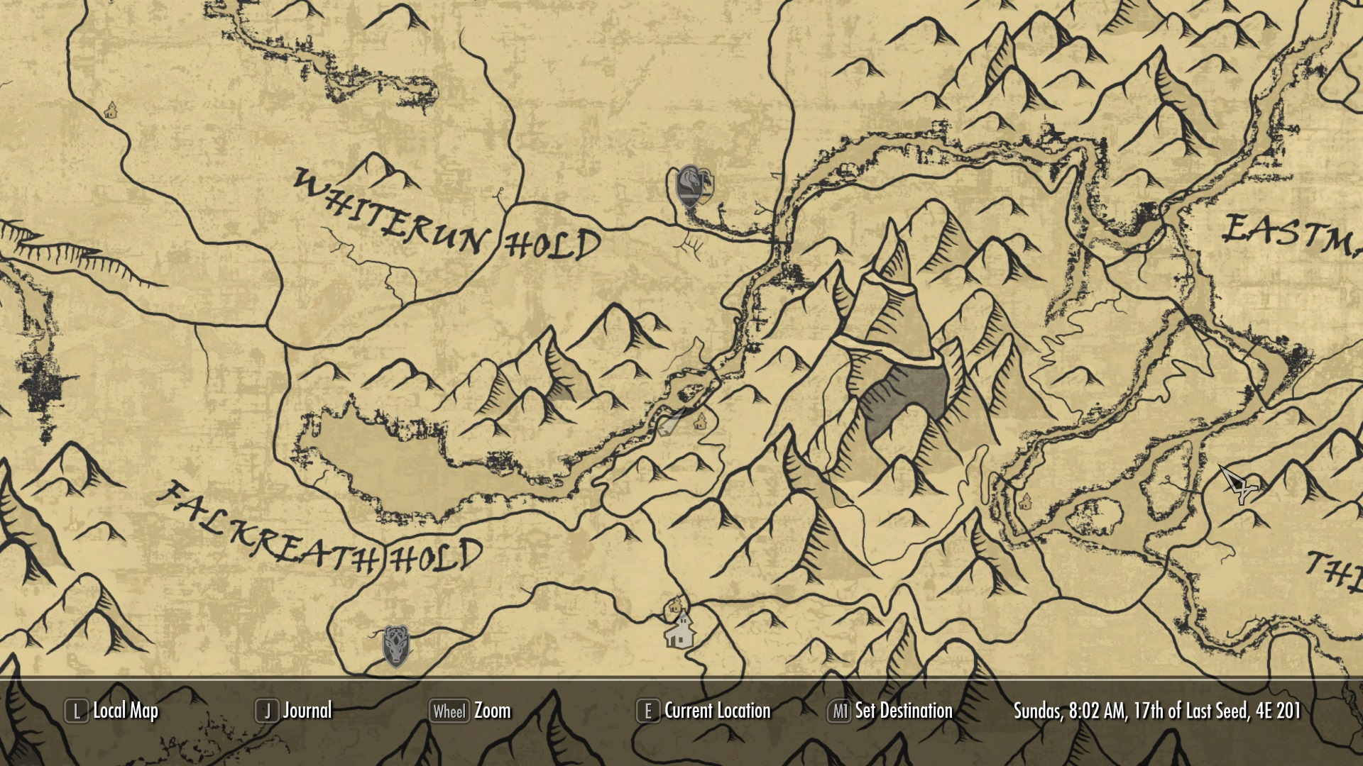 a quality world map and solstheim map with roads at skyrim nexus
