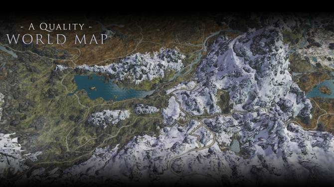 Quality World Map Skyrim A Quality World Map and Solstheim Map   With Roads at Skyrim Nexus