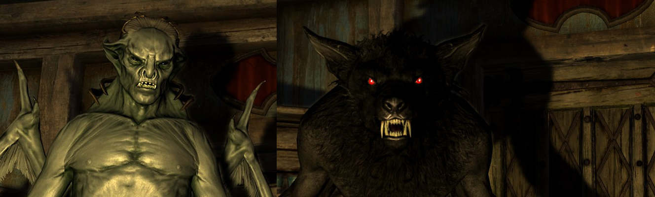 skyrim how to make a good looking vampire