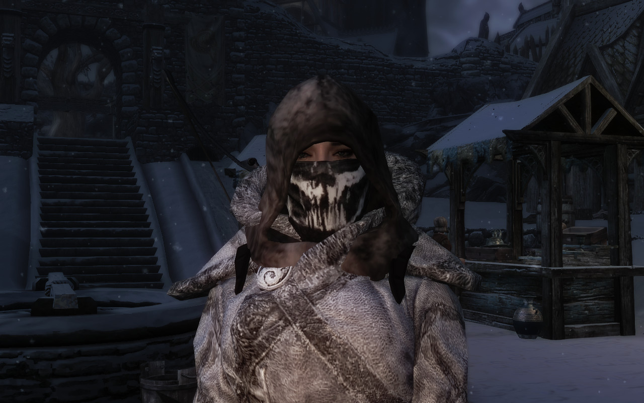 Face Masks of Skyrim - Ghosts Edition Retexture at Skyrim Nexus ...