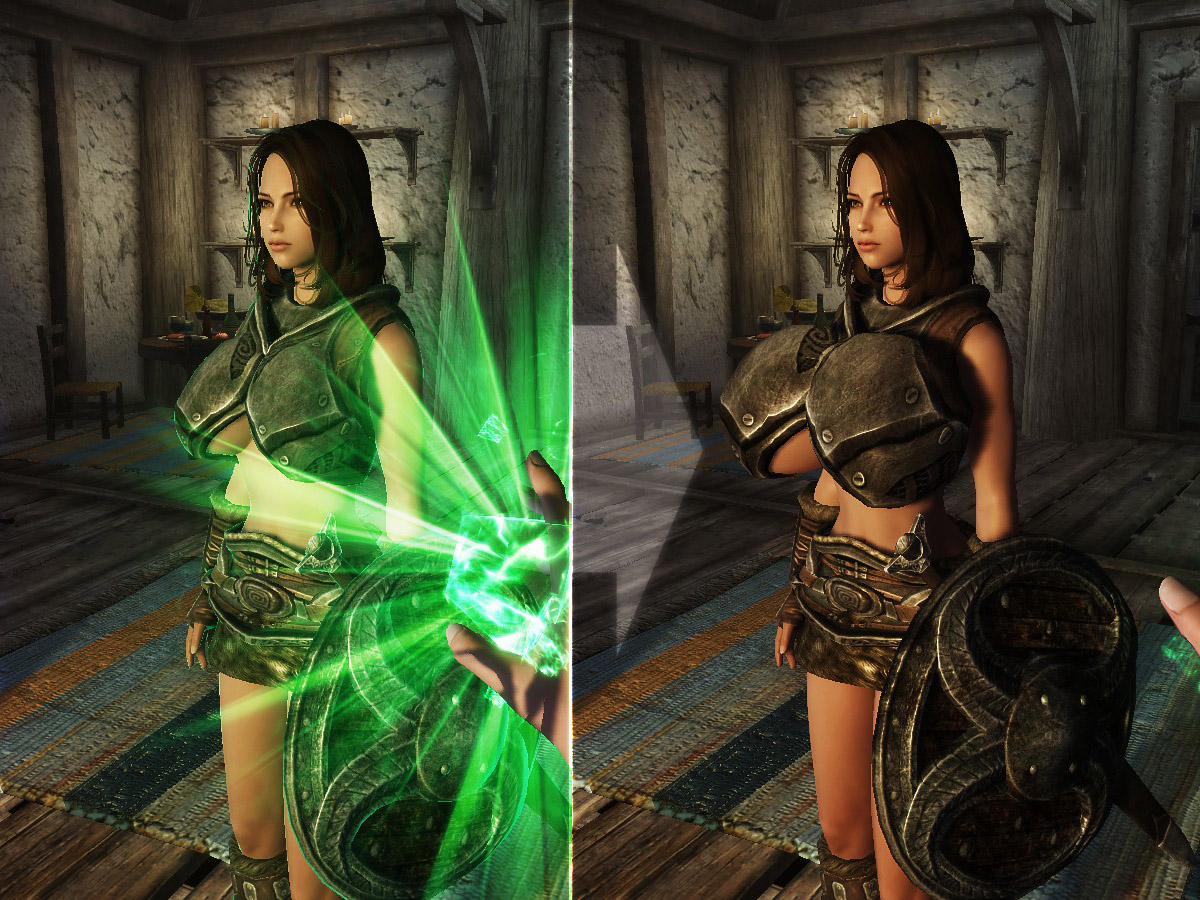 Weight Alteration Spells for Bodyslide at Skyrim Nexus - mods and