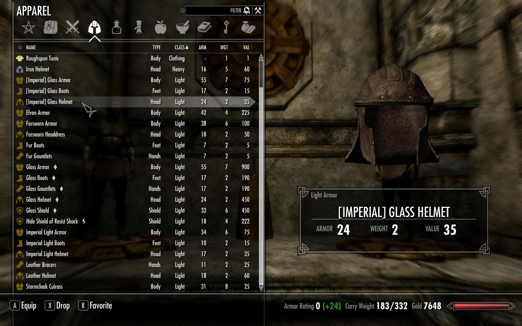 Skyrim Invisible Armor – HD Wallpapers