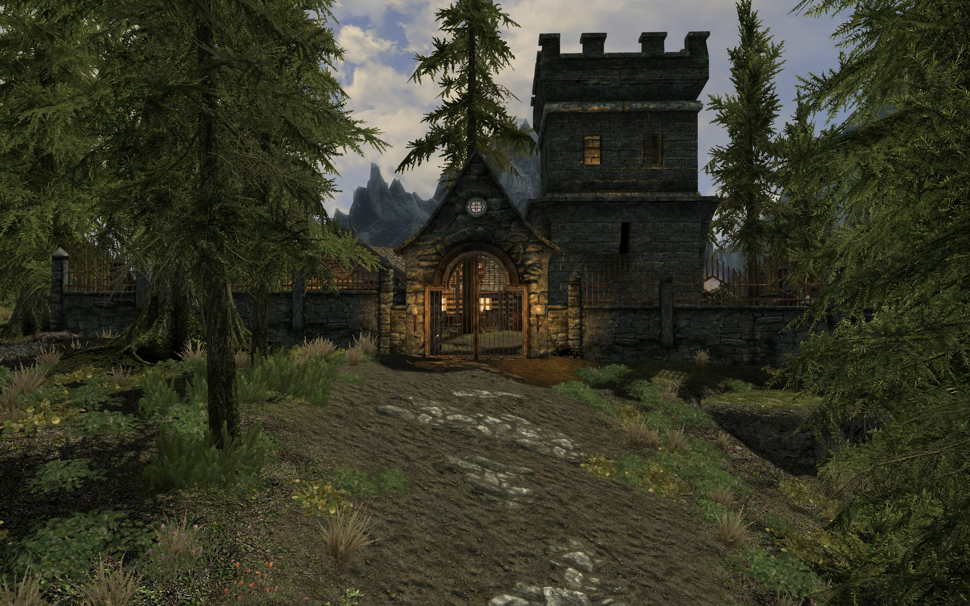 Falkreath estate house at skyrim nexus mods and community for Estate house