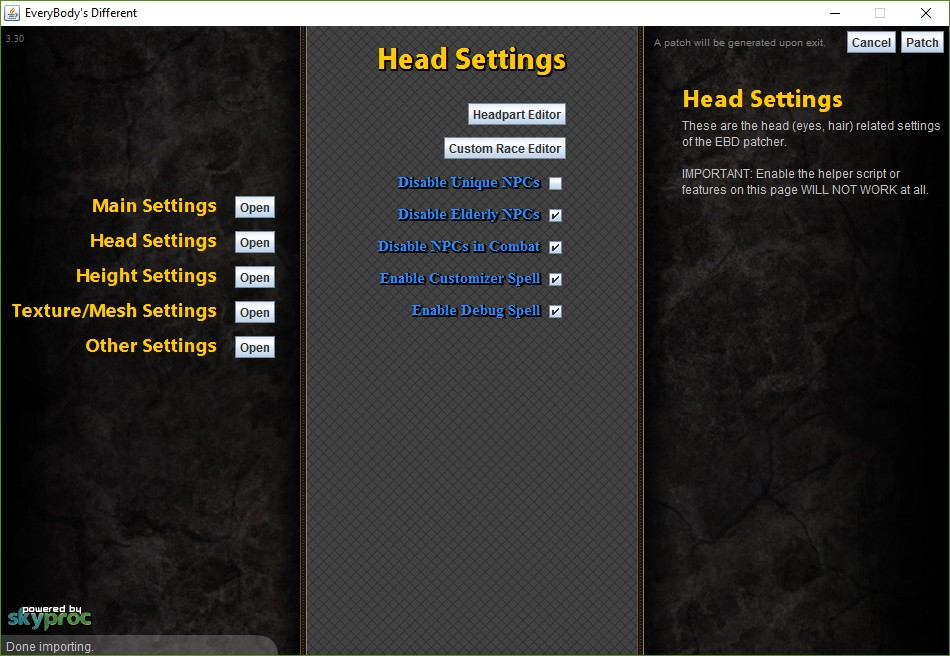 how to change game in nexus mod manager