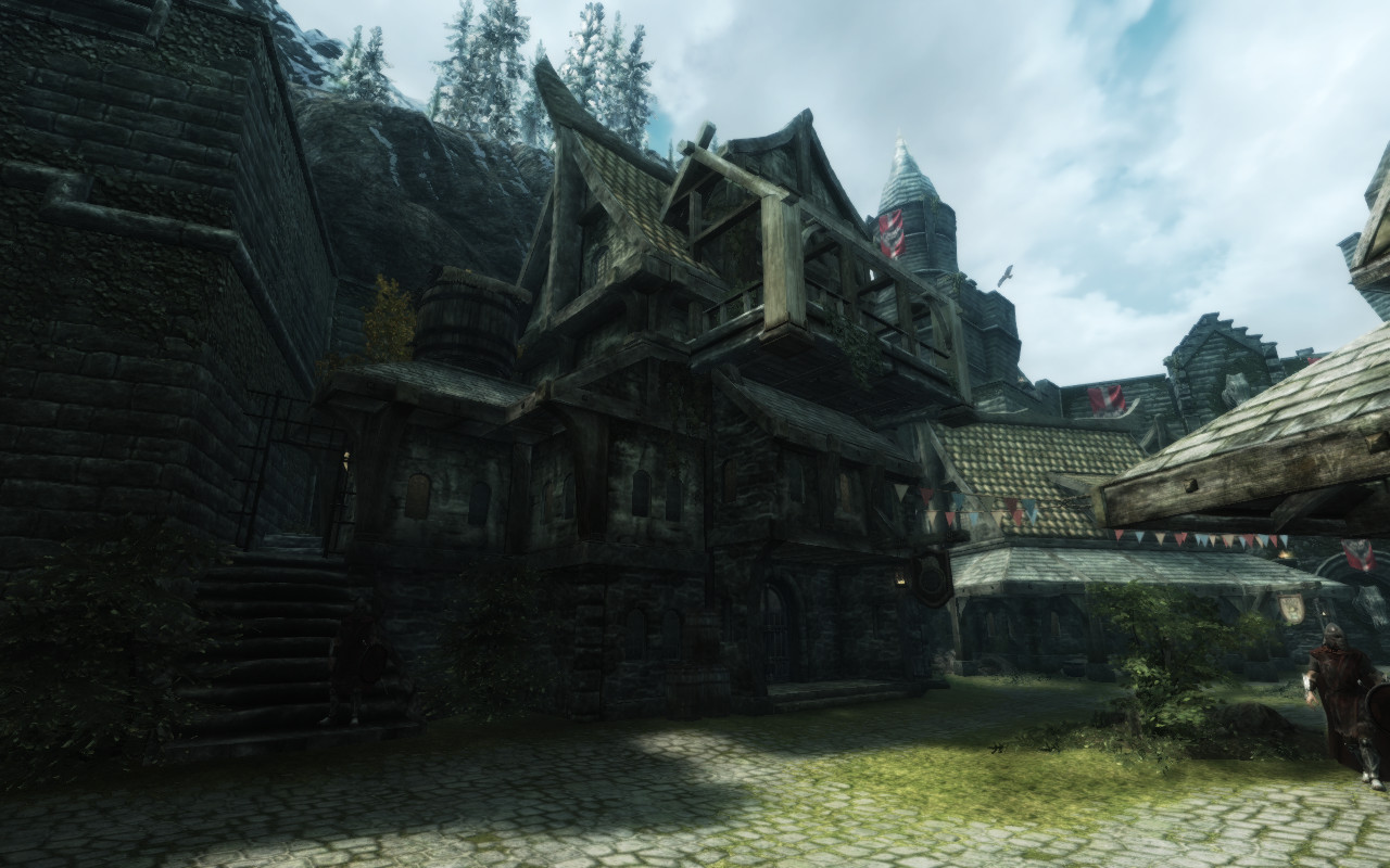 The Lucky Skeever Of Solitude At Skyrim Nexus Mods And